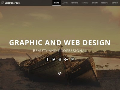 Gridi OnePage