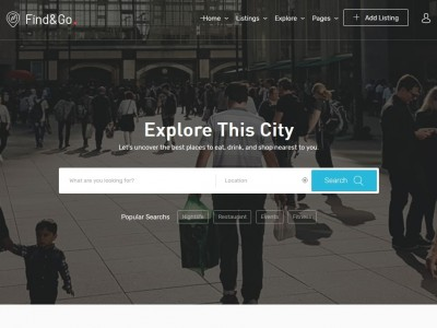Findgo - WordPress