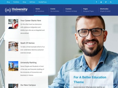 University - WordPress