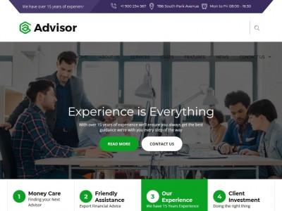 Advisor - WordPress