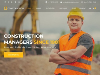 Construction - WordPress