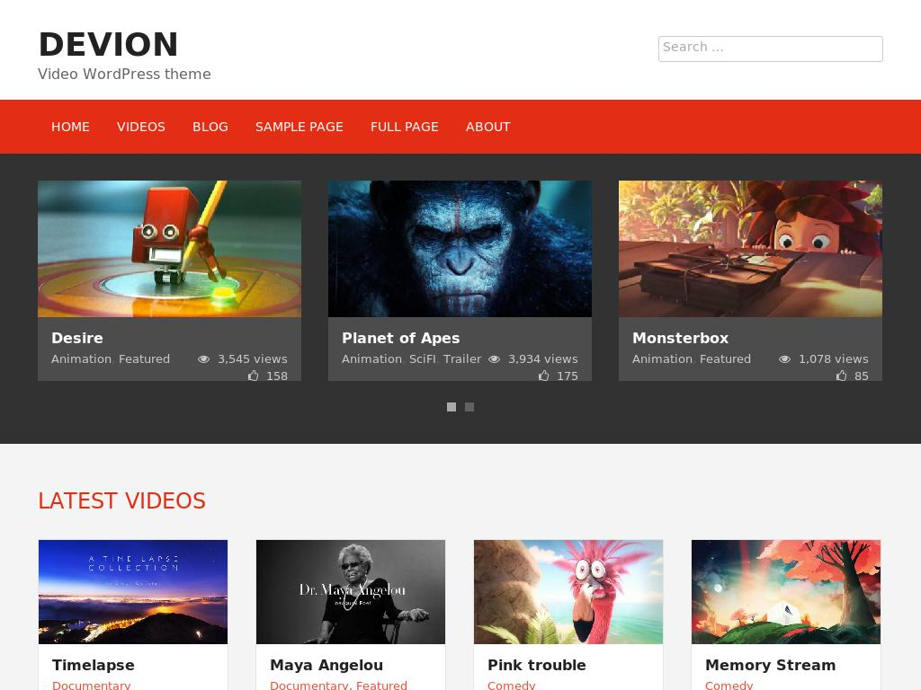 Devion - WordPress