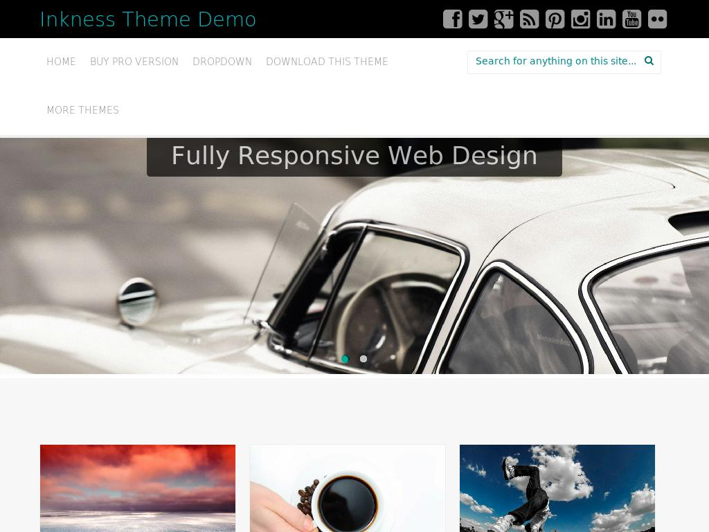 Inkness - WordPress - Блог