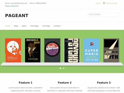 Pageant - WordPress