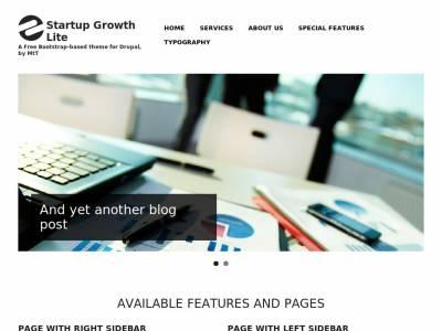 Startup Growth Lite - Drupal