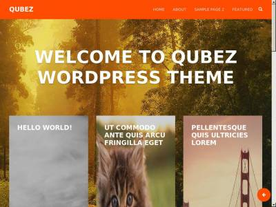 Qubez - WordPress