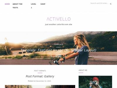 Activello - WordPress