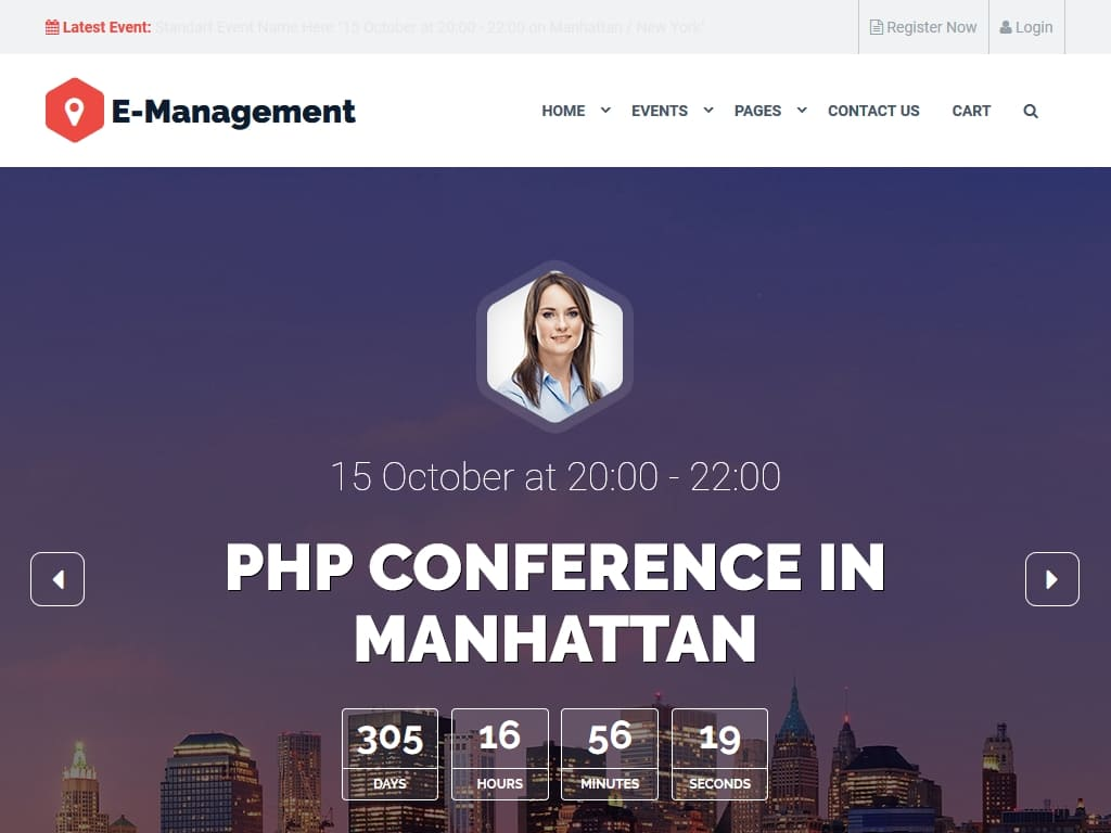 Event Management - WordPress - Блог