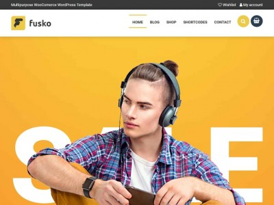 Fusko - WordPress