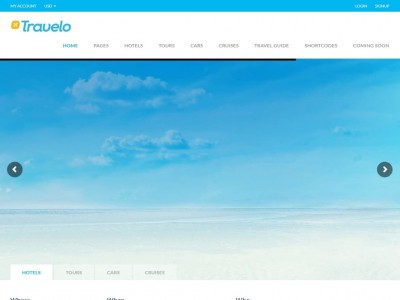 Travelo - WordPress