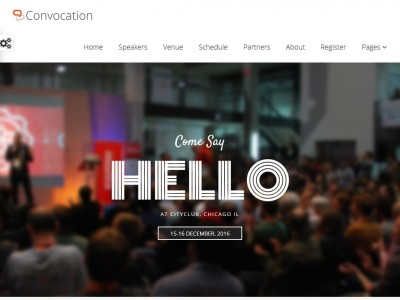 Convocation - WordPress