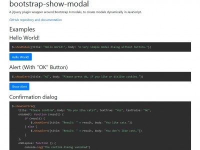 Bootstrap Show Modal