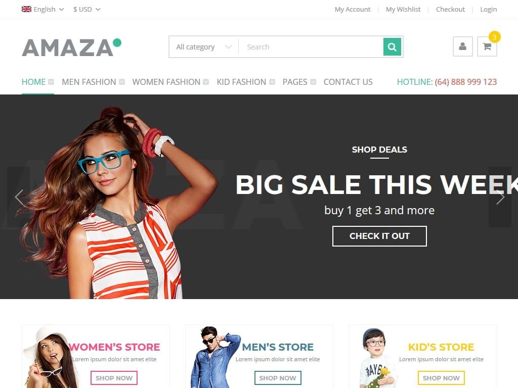 21f05722dc50 217+ Шаблонов Магазинов для Bootstrap / Шаблоны Bootstrap ...