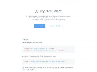 jQuery Nice Select