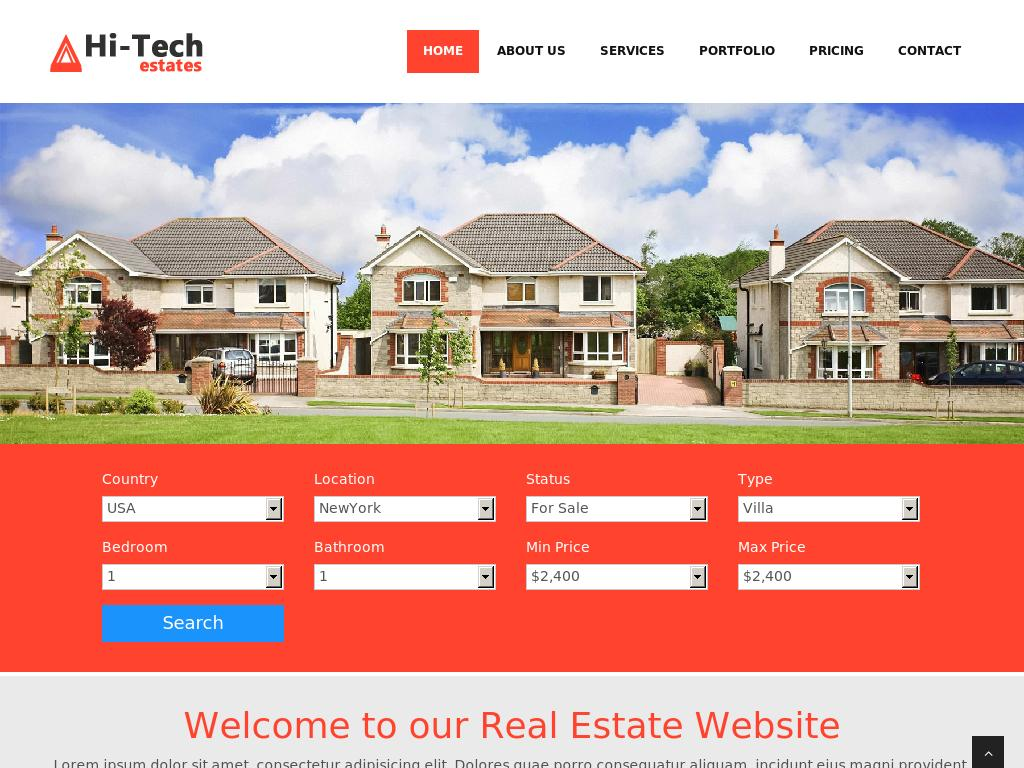 Hi-Tech Real Estate - Портфолио