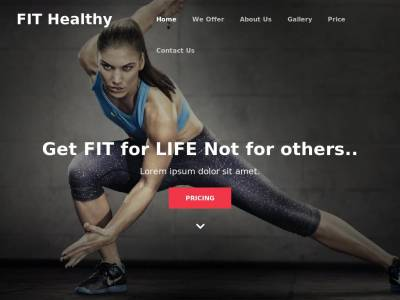 Fit Healthy Fitness