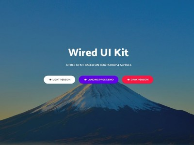 Wired UI Kit