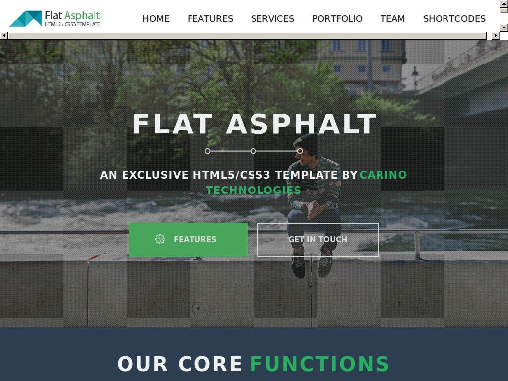 Flat Asphalt
