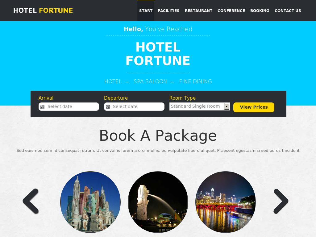 Fortune a Hotel