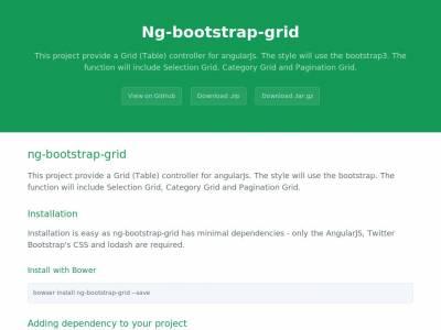 Ng Bootstrap Grid