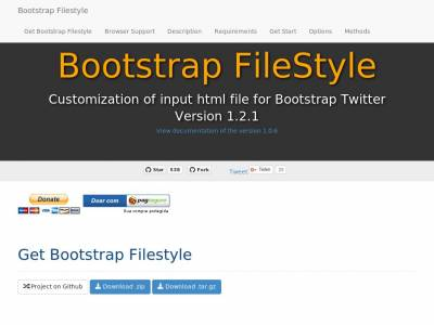 Bootstrap FileStyle