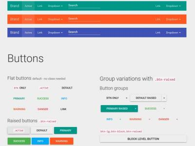 Google Material Design Bootstrap