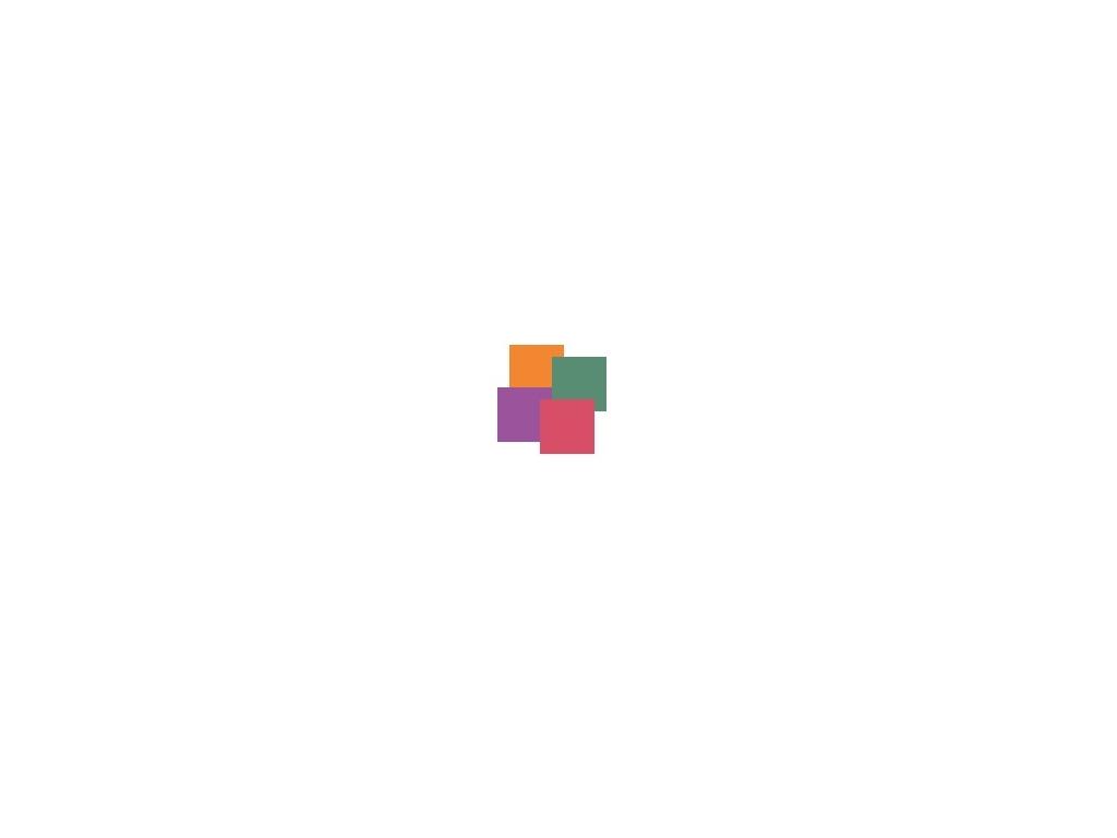 Preloader spinning squares