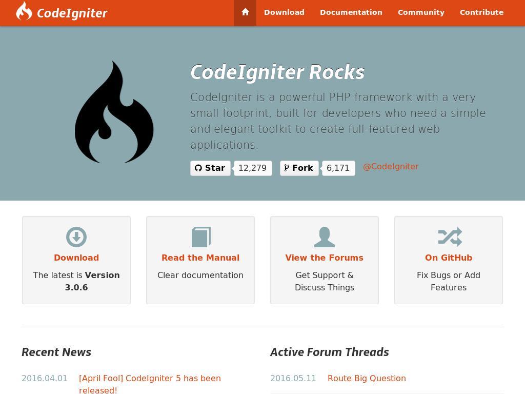 CodeIgniter Bootstrap