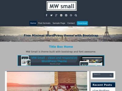MW Small - WordPress