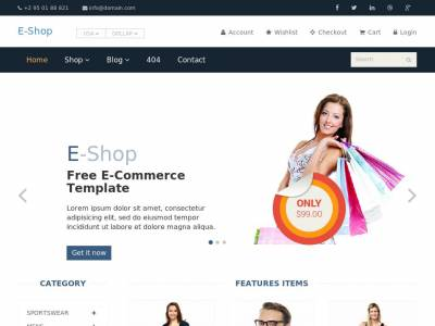 E-Shop - WordPress